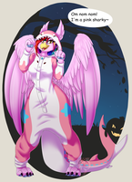 Lucy in a Namii Kigu ::COM:: by ThePinkShark
