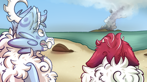 Summer Shift Uh Oh Volcano by SlayersStronghold
