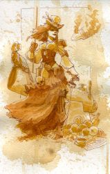 lady bonny, scourge of the seven skies by BrianKesinger