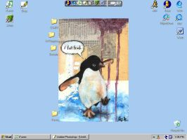 .yes.a.penguin.screenshot. by DigitNe
