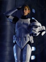 Female Stormtrooper by MarcoAlessi