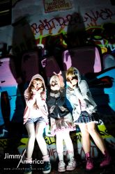 Kyary Pamyu Pamyu Shoot With Alice, Chia and Viole by JimmyAmericaPhoto