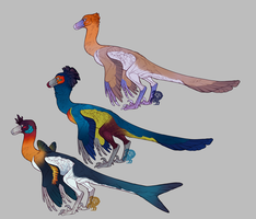 Raptor Adopts 1-2-3 (CLOSED) by Avian-king
