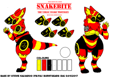 Snakebite-the-protogen by lectraplayer