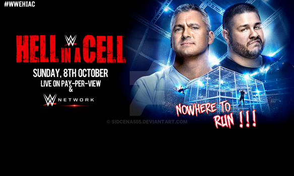 WWE Hell In A Cell 2017 Wallpaper by SidCena555