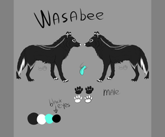 Wasabee Ref sheet by PawesomeSauce