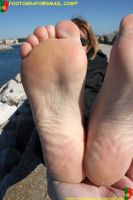 Her Right Foot by Footografo