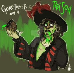 Goretober day 4 Poisoned by RatTheRipper