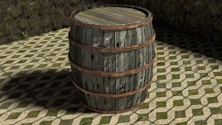 A barrel by TallPaul3D