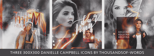 Danielle Campbell Icon Pack by herrondale