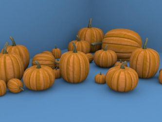 Pumpkin Models by SlayersStronghold