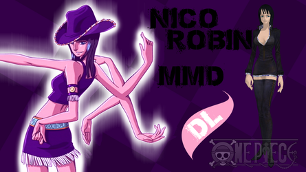 MMD One Piece Nico Robin DL by Friends4Never