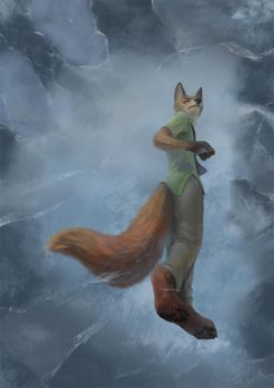 Zootopia 21 on the thin ice by Shinyfurry
