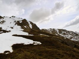 Top of a Mountain 2 by prints-of-stock