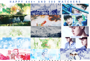 [SHARE] HAPPY 444+ AND 500 WATCHERS by xhangelf