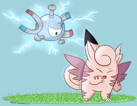 PR - Stray Clefable! Capture Attempt 1 by Daifen