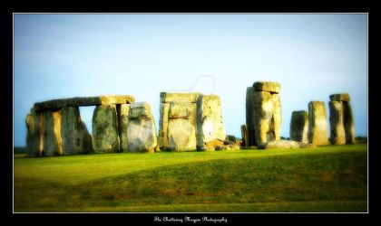 Stonehenge (DSCF2348 #3a LOMO/ORTON) by Chattering-Magpie