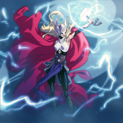 Thor by Mikuloctopus
