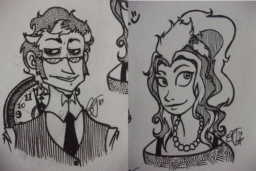 Ples and Toni inks by a-song-unsung