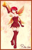 Trade: Juni fire fairy by RikaChan3