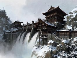 China Dam by fengua-zhong