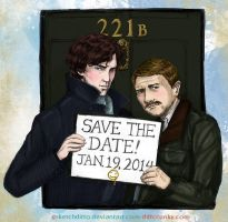 Save the Date! by sketchditto