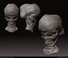 1 hour speed sculpting by leonuts