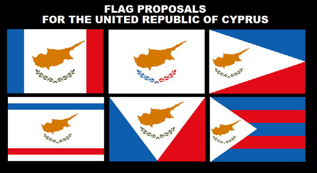 Flag Proposals Cyprus by PatrickMontreal