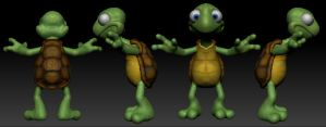 Turnaround of Turtle by dromens