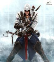 Connor Kenway by Eleze