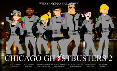 Chicago Ghostbusters 2 by Bort826TFWorld