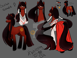 Character Reference: Scarlet Shade by Katiefrog217