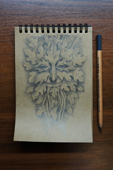 Green Man by Werlioka