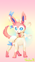 Sylveon! by Paleodraw