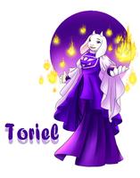 Summontale Toriel by tarami2002