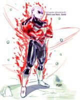 Jiren by Mark-Clark-II