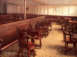 3rd Class General room of Titanic by novtilus