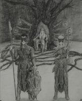 Guardians of Mirkwood by BlueOakRogue