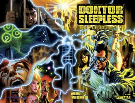 Doktor Sleepless cover 2 by felipemassafera