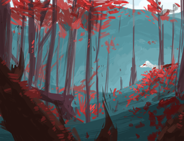 Dow's Forest Speedpaint by RAE-J