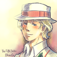 + The Fifth Doctor + by BoGilliam