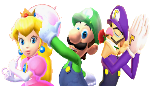 My Top 3 Favorite Mario Characters! by Sandrag1