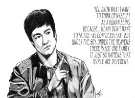 bruce lee by IndioBlack619