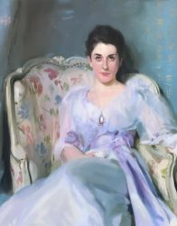 John Singer Sargent Lady Agnew Master Copy by chrisconlon