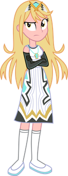 Commission - EqG Mythra by SketchMCreations