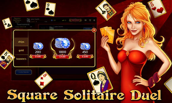 Poker Banner Bigsquare solitaire banner by AgataKa19