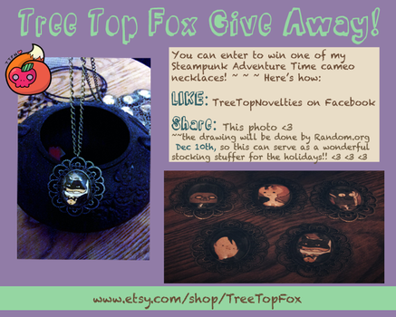 adventure time cameo give away by TreeTopFoxx
