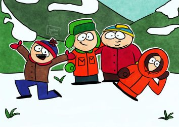 Come and visit Southpark! by LenaFlynn