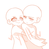 ||AUCTION|| Semi-Chibi Couple YCH- CLOSED! by Shizuoki
