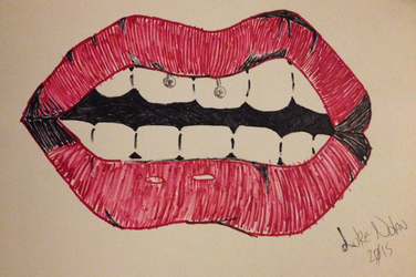 Lips #2 by Lucazade330